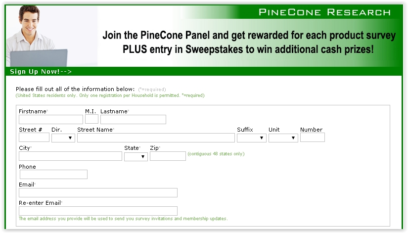 Pinecone-Sign-Up