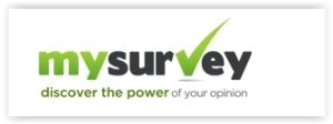 Logo for MySurvey Paid Survey Site