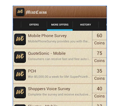 Mintcoins App