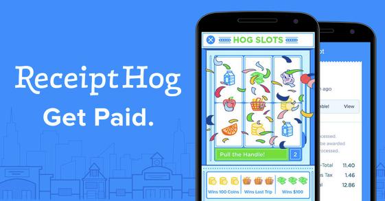 Receipt Hog rebates app