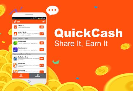 Quick Cash money making application