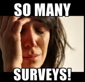 What It Feels Like After Doing Too Many Paid Surveys