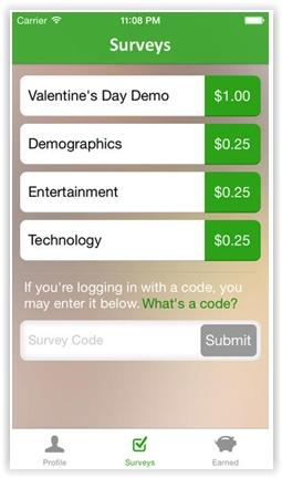SurveysOnTheGo Apps