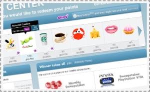 Gifties Reward Program for Toluna Members