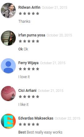 Reviews of the WHAFF Rewards app
