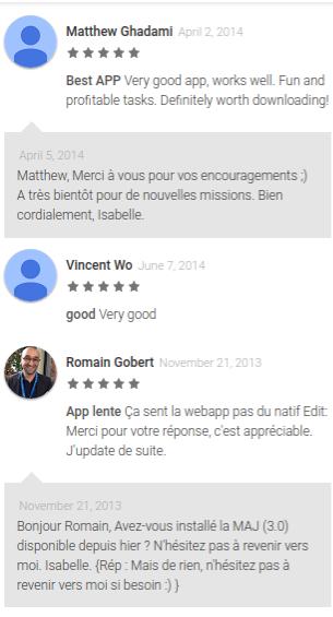 Clic and Walk app reviews