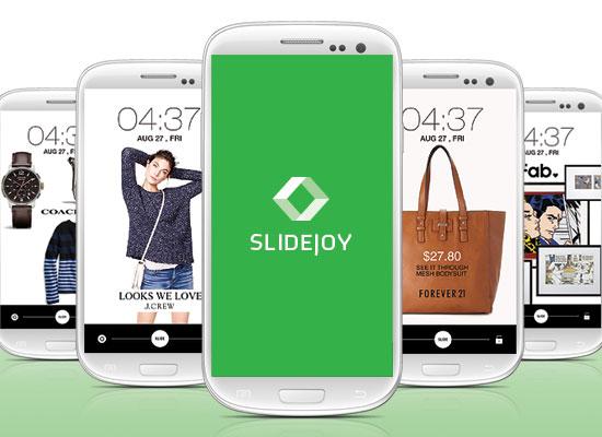 Slidejoy Lock Screen rewards app