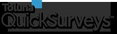 Website logo QuickSurveys.com Toluna Survey Creator Site